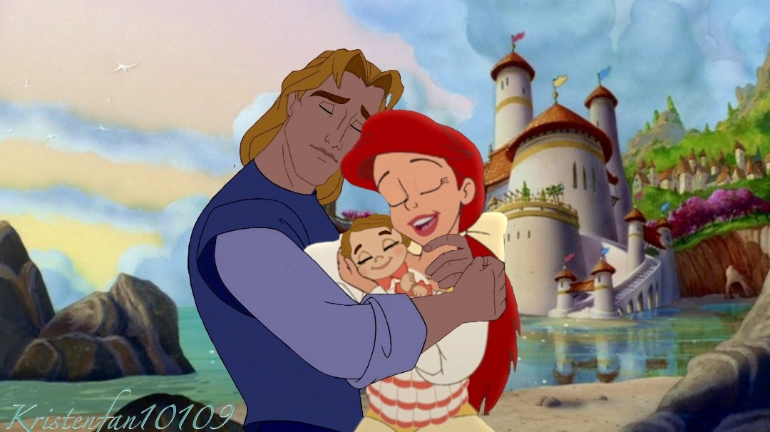 John & Ariel with their daughter