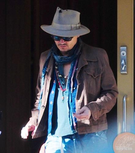 Johnny Depp, LA 22 May