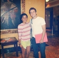 Josh in Panama with a fan - josh-hutcherson photo