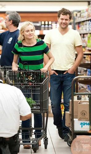 Joshua & Diane at Gelson's Market