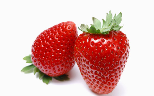 Juicy Red strawberi