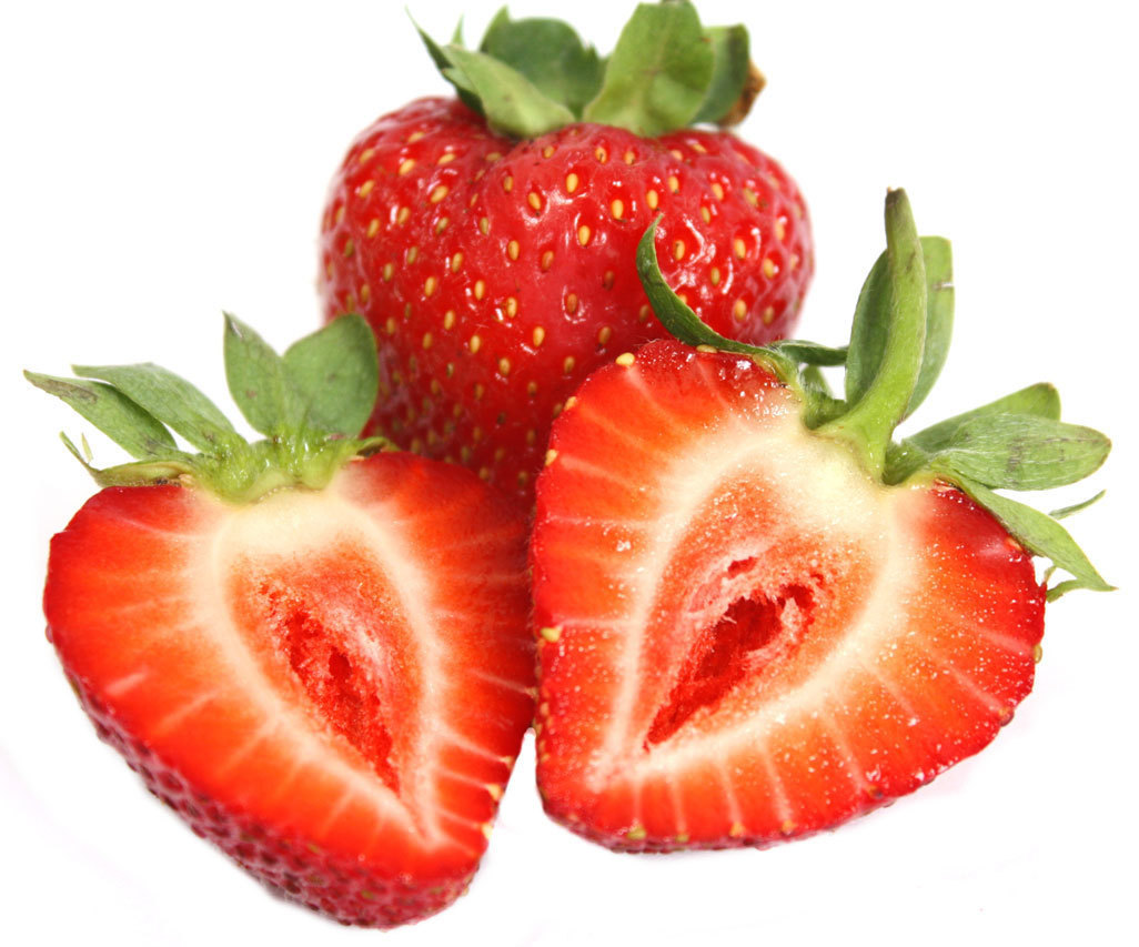 Juicy Red Strawberry - Colors Photo (34537417) - Fanpop