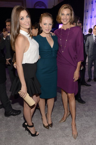 Julie Gonzalo, Emma sino and Brenda Strong