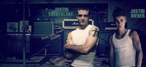 Justin Timberlake & Justin Bieber - Cover's Facebook