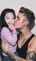 Justin holding Miley!!!!! - justin-bieber photo