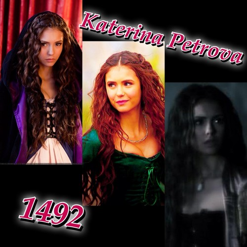 Katerina Petrova wallpaper probably containing a concert, a portrait, and animê titled Katerina Petrova 1492