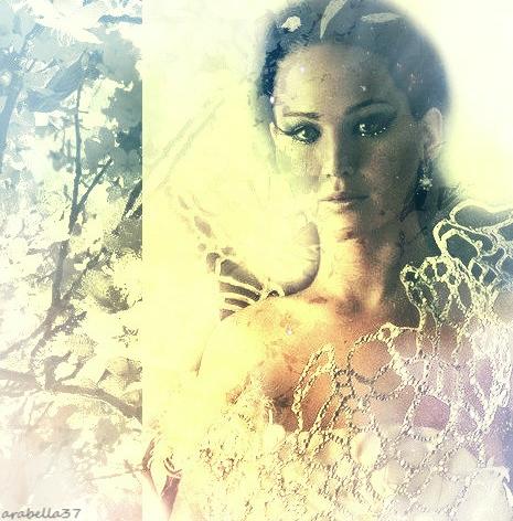 Jennifer Lawrence hình nền with a portrait titled Katniss