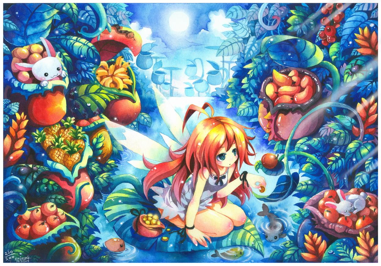 Kawaii Fairy Wallpaper