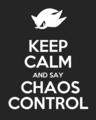 Keep Calm... - shadow-the-hedgehog photo