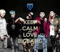 Keep calm Bigbang<3<3