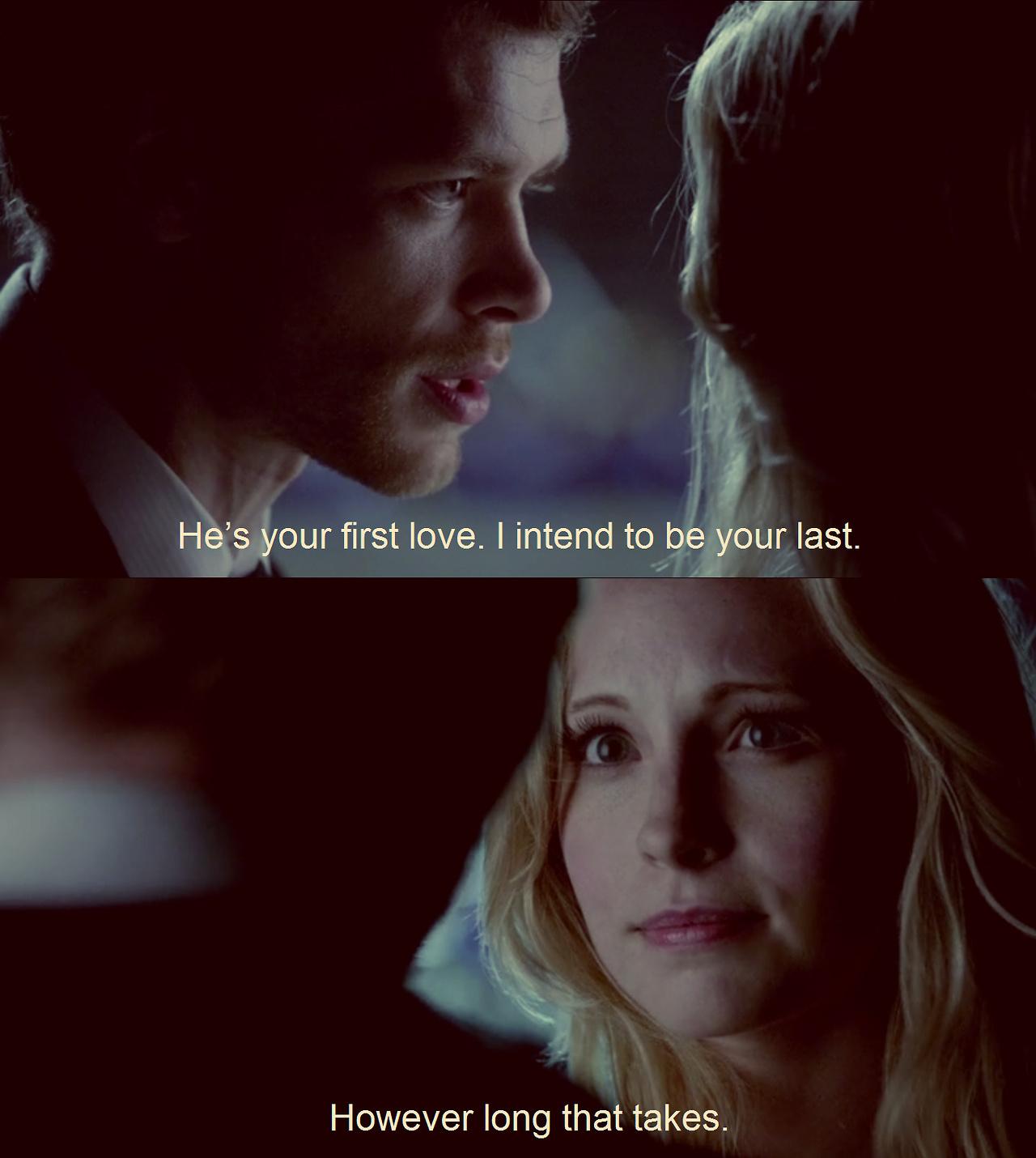 Vampire Diaries Love Quotes Klaus Klaroline 4.23 ...