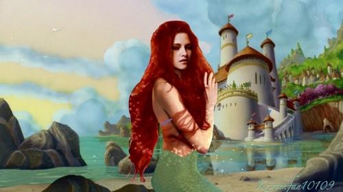 Kristen as Ariel
