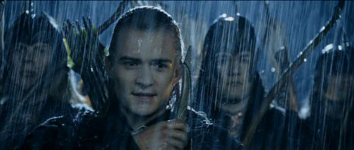 Legolas Greenleaf wallpaper possibly with a chainlink fence called Legolas - The Two Towers