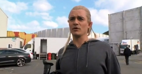 Legolas returns in The Hobbit