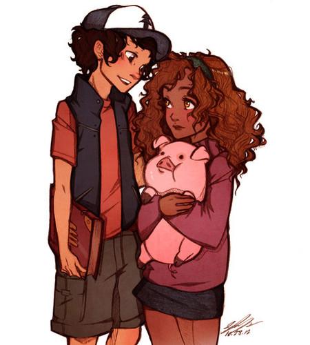Leo and Hazel