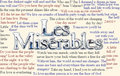 Les Miserables Ultimate Quotes