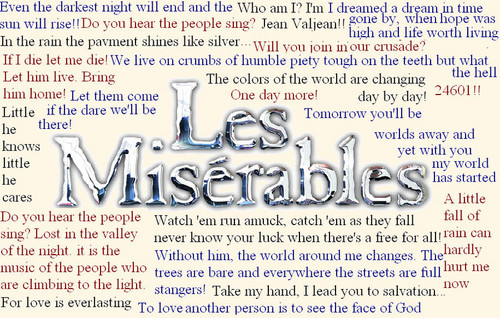 Les Miserables Ultimate frases