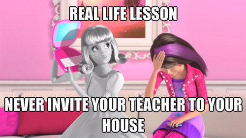 Barbie: Life in the Dreamhouse achtergrond with anime called Life lesson