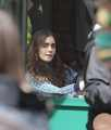 "Lily filming ""Love, Rosie"" in Dublin, Ireland (27th May 2013) - lily-collins photo"