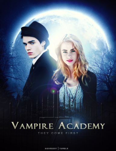 The Vampire Academy Blood Sisters wallpaper titled Lissa/Christian