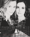 Lissa and Rose - rose-hathaway-and-lissa-dragomir fan art