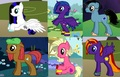 Liza, Silvy, Ryker, Kadri, Valerie and Chloe as Ponies - total-drama-island-fancharacters photo