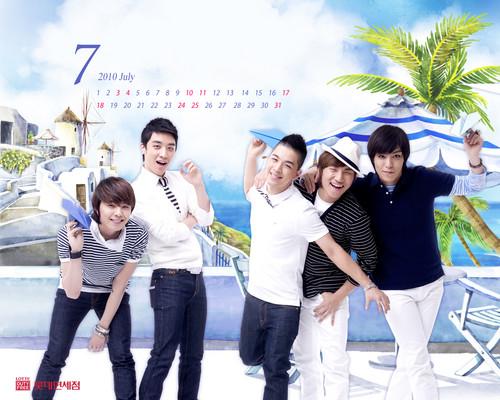 Lotte Duty Free Official वॉलपेपर Calendar