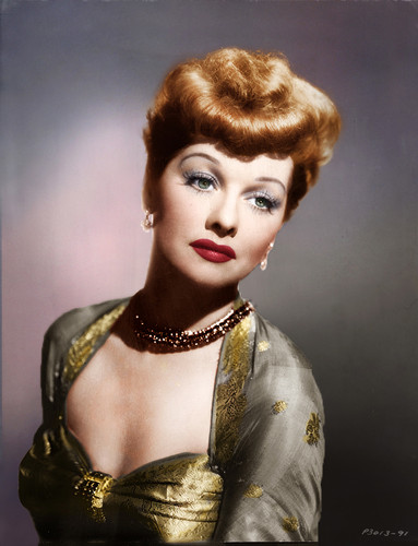 Lucille Ball 壁紙 probably with a カクテル dress called Lucille Ball