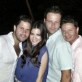 MAITE PERRONI AT WEDDING IN ACAPULCO, MÉXICO (APRIL 21)