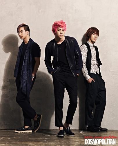 MBLAQ for 'Cosmopolitan'