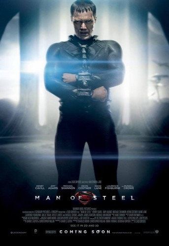 Man of Steel Character Posters
