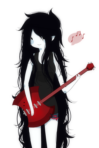 Adventure Time With Finn and Jake پیپر وال titled Marceline