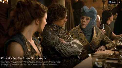 Margaery Tyrell wallpaper with a brasserie and a bistro entitled Margaery Tyrell