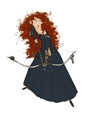 Merida concept art - brave photo