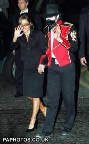 Michael And Lisa Marie In London Back In 1997