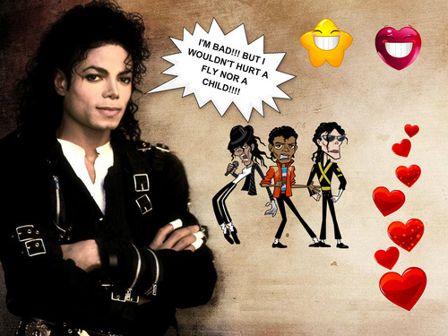 Michael Jackson wallpaper called Michael Jackson BAD