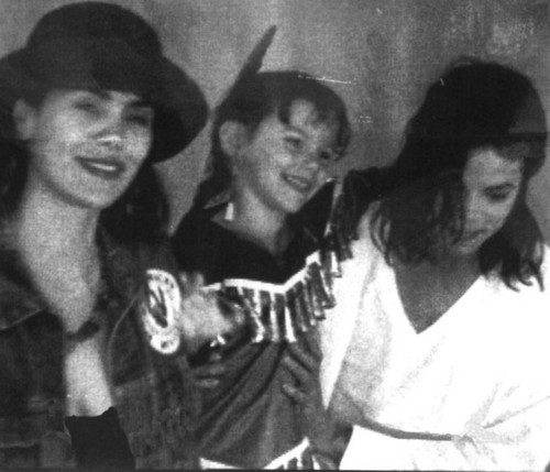 Michael Jackson with Sage and Joanelle Romero