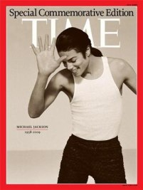 """Michael On The Cover Of 2009 Commemorative Issue Of """"TIME"""" Magazine"""