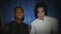 Michael and Usher - michael-jackson photo