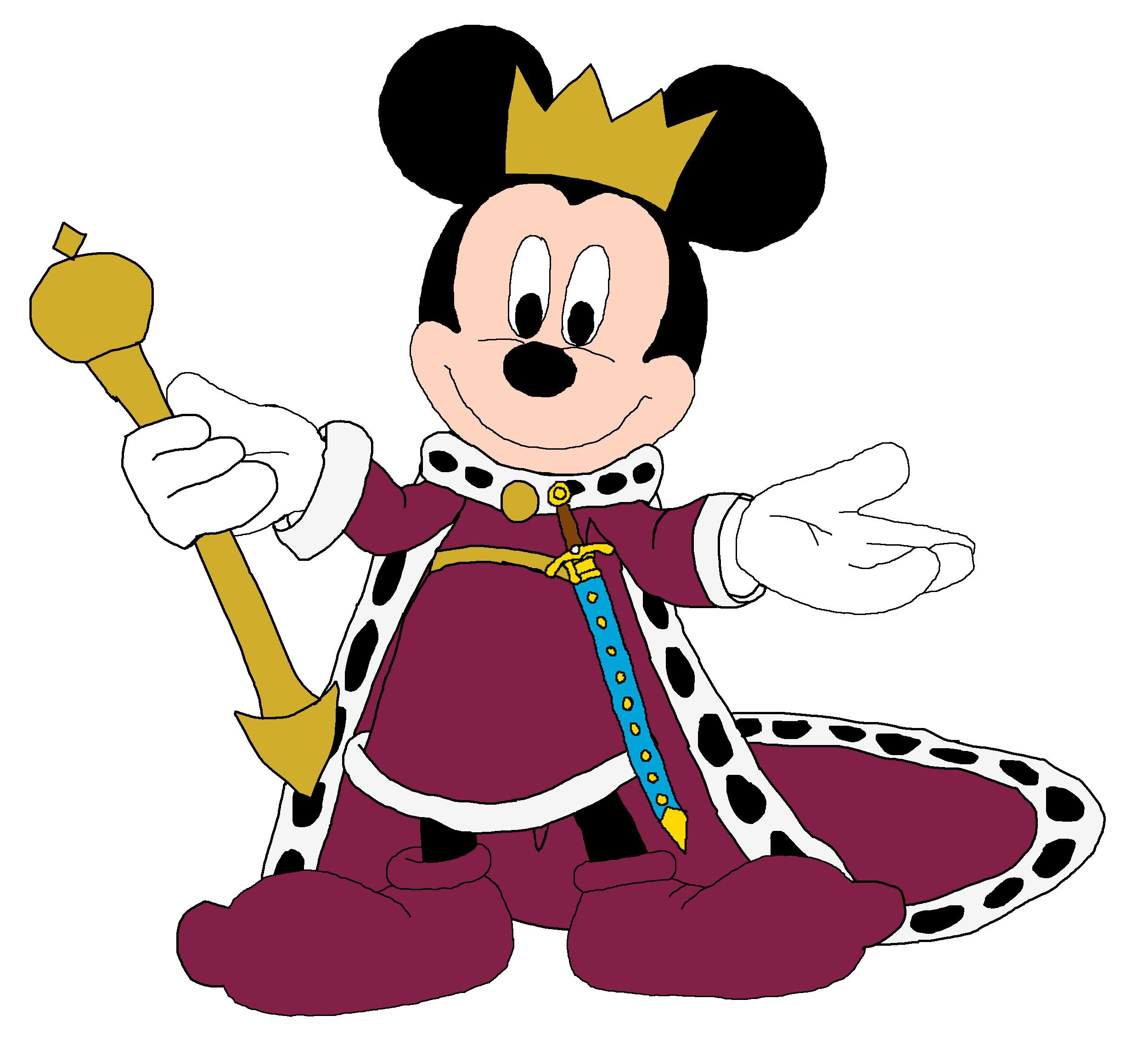 Mickey as King Arthur
