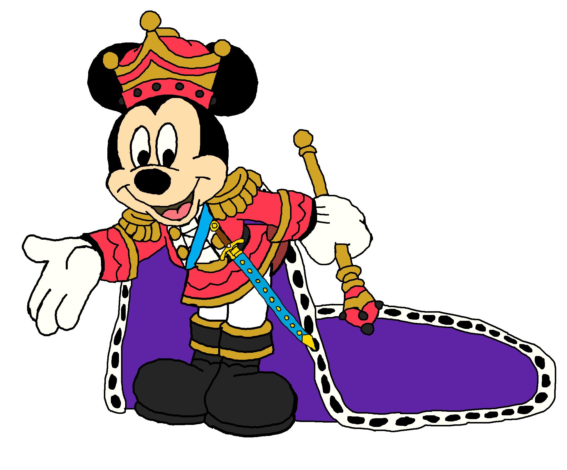 Mickey as the Nutcracker Prince