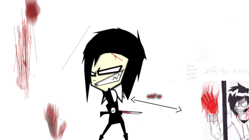 Misty and Jeff the Killer