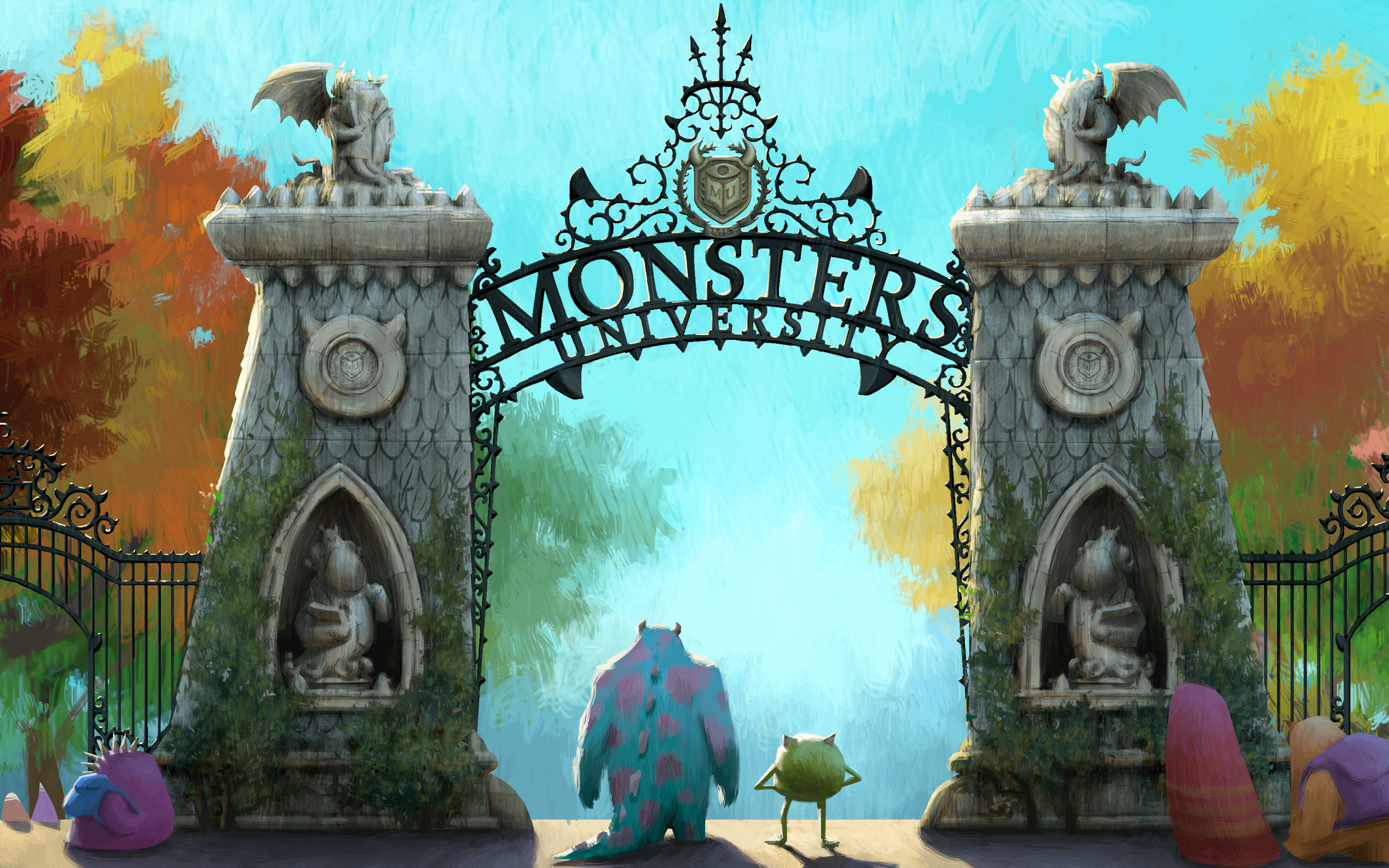 Monsters Inc - Monsters, Inc. Wallpaper (34550943) - Fanpop