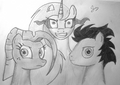 My Little Pony Family - my-little-pony-friendship-is-magic fan art