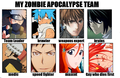 My Zombie Apocalypse Team