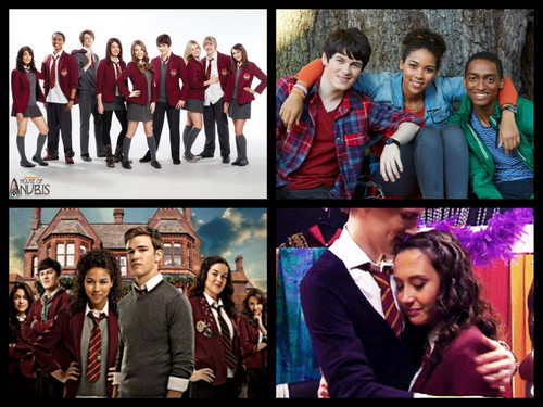 The House of Anubis fond d'écran with a business suit titled My collage of house of anubis