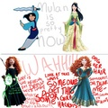 My thoughts on the Merida redesign - disney-princess photo