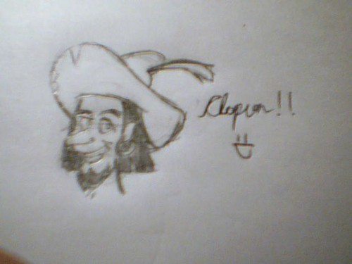 My very 1st drawing of Clopin!
