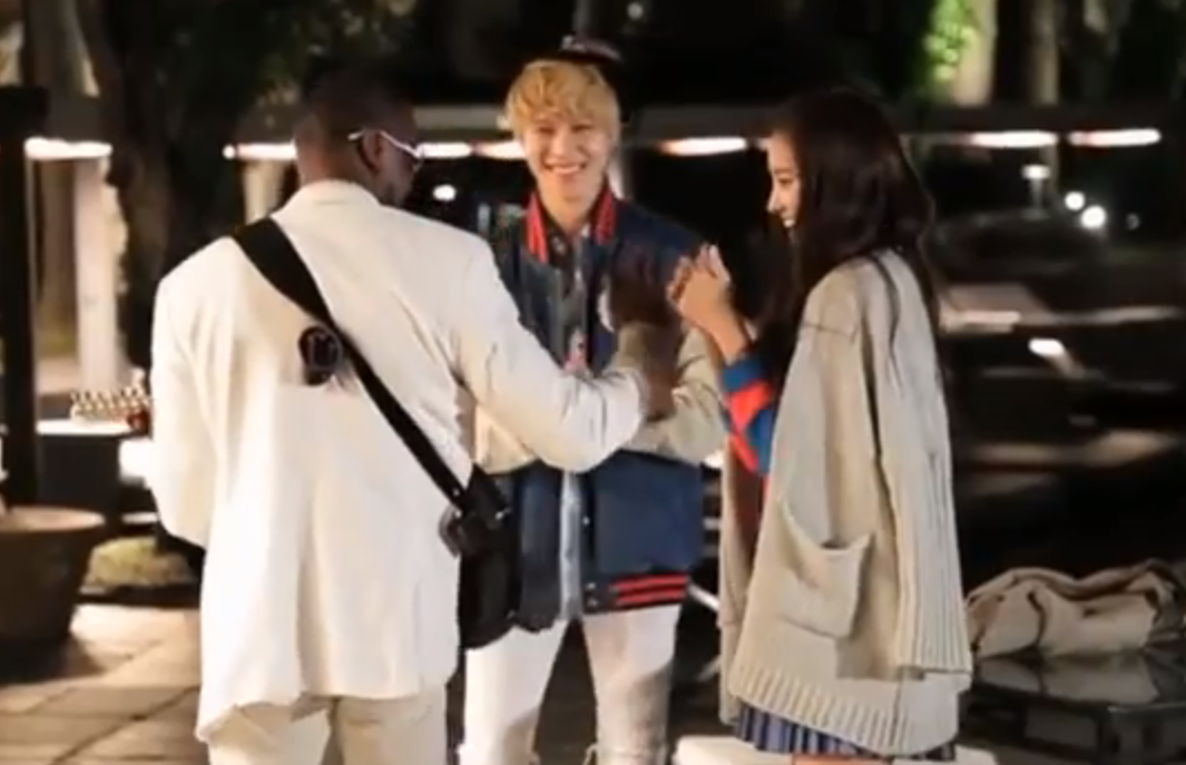 Naeun and Taemin