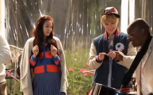 Naeun and Taemin